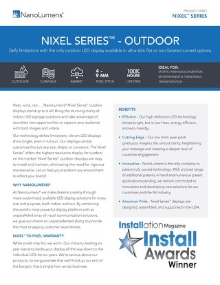 Nixel Series™ Outdoor