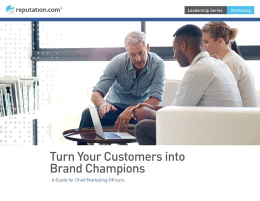 Turn Your Customers into Brand Champions