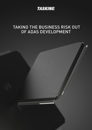 Taking the Business Risk Out of ADAS Development