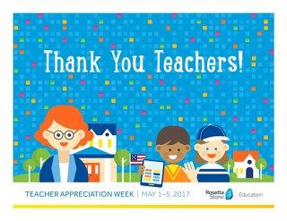 Your Teacher Appreciation Packet