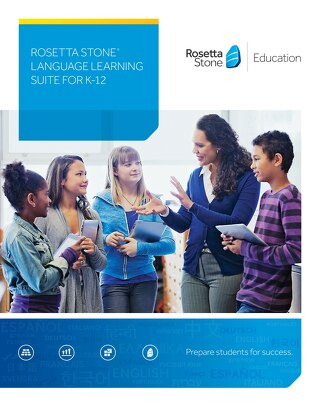 Rosetta Stone Language Learning Suite for K-12