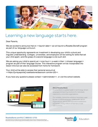 Introducing Rosetta Stone: For Parents