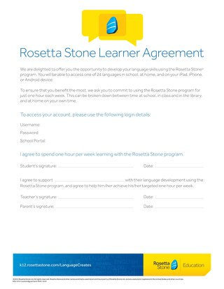 Introducing Rosetta Stone: For Students