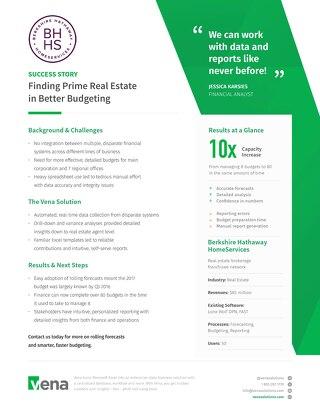 Vena Case Study: Berkshire-Hathaway (Budgeting)