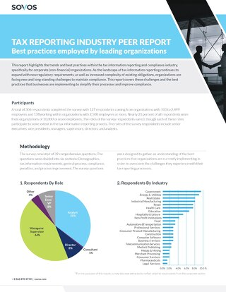 Sovos Corporate Best Practices Report