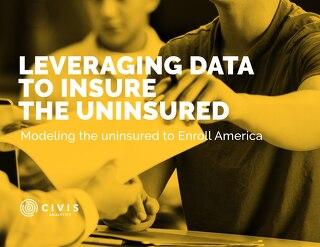 Modeling the Uninsured for Enroll America