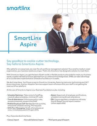 SmartLinx Aspire - Flyer