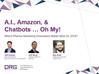 Webinar - AI, Amazon & Chatbots … Oh My!