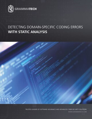 3843164422758384088-GrammaTech, Domain-Specific Coding Errors w Static Analysis-3