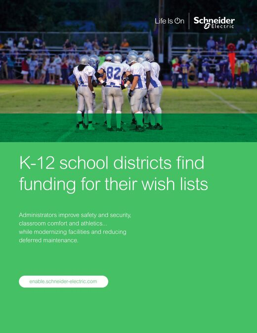 K-12 School Districts Find Funding for Their Wish Lists