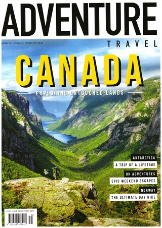 Adventure Travel Magazine, August 2017 Issue