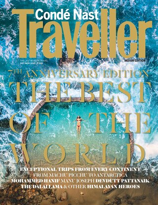 Condé Nast Traveller Indian, October 2017 Issue