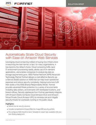 Automatically Scale Cloud with Ease on Amazon Web Services