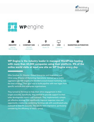 [PDF] ABM Stories: WP Engine Case Study