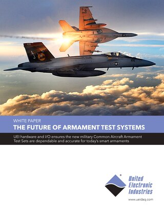 The Future of Armament Test Systems