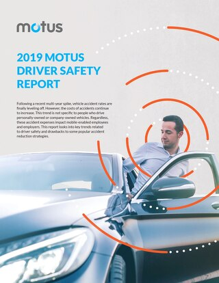 2019 Motus Driver Safety Report