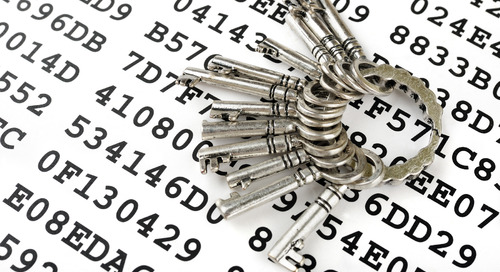 Embedding security into data management