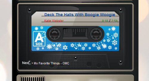 Turning Up the Holiday Music; and other tips to get cash registers ringing for the holidays