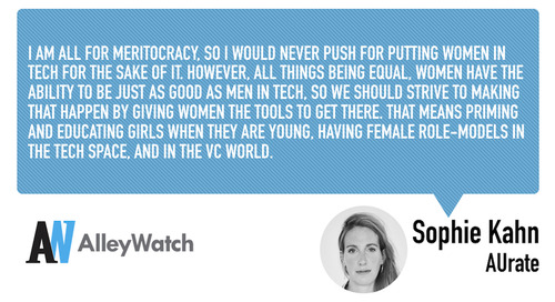 Women in NYC Tech: Sophie Kahn of AUrate