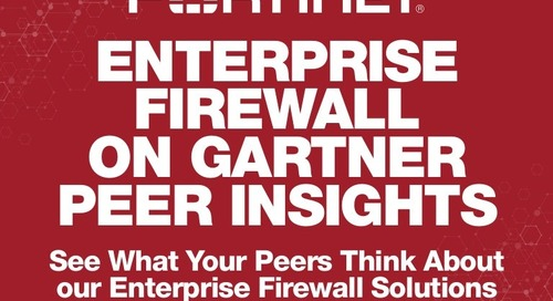 Infographic: Enterprise Firewall on Gartner Peer Insights