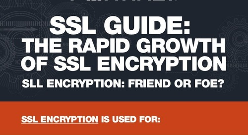 Infographic: Rapid Growth of SSL Encyption