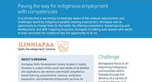 Paving the way for Indigenous employment with competencies