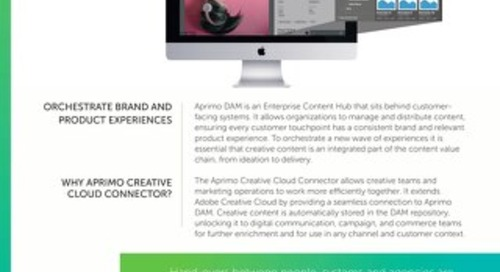 Aprimo Creative Cloud Connector