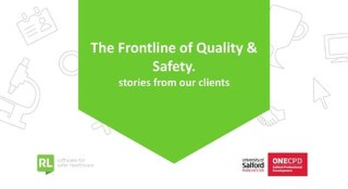 Quality in Healthcare for Patient Safety Conference - Salford