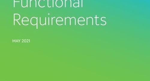 CRM Requirements Checklist for Non-Profits