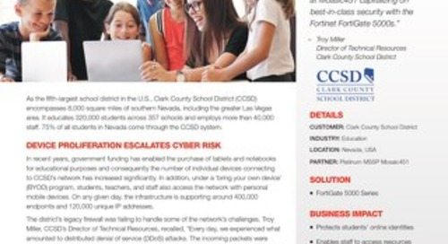 Case Study: Clark County School District