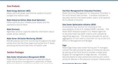 Nlyte Compute Infrastructure Management Suite_DataSheet