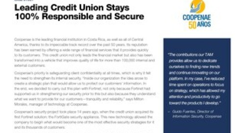 Case Study: The Leading Credit Union's Security Plan