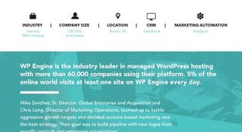 [PDF] ABM Stories: WP Engine Case Study