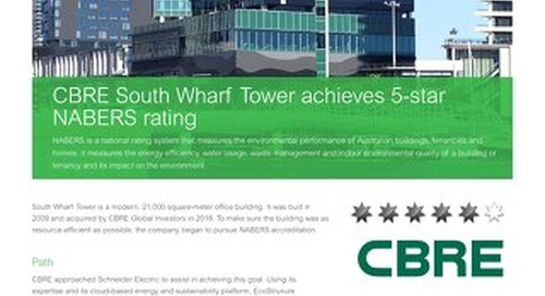 CBRE Building gets 5-star NABERS rating