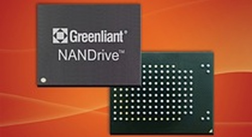 Greenliant Expands Portfolio of eMMC NANDrive(tm) Embedded Solid State Drives for Industrial Applications