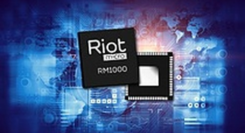 Collaboration between PoLTE and Riot Micro Enables Ultra-Low Power Location Capabilities in IoT Systems