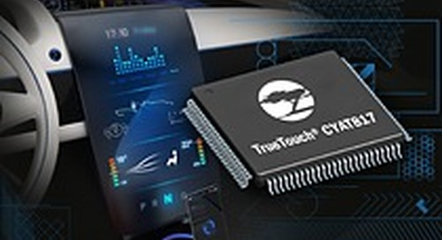 Cypress Introduces the Industry's Most Advanced Automotive Touchscreen Controller
