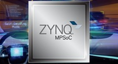 Xilinx Announces Availability of Automotive Qualified Zynq UltraScale+ MPSoC Family