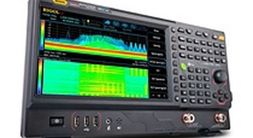 Saelig Introduces RSA5000 3.2/6.5GHz Real-Time Spectrum Analyzers