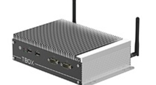 Fanless industrial box PC incorporates Intel CPUs