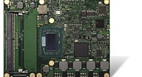 congatec launches COM Express Type 6 module with AMD Ryzen Embedded V1000 processors
