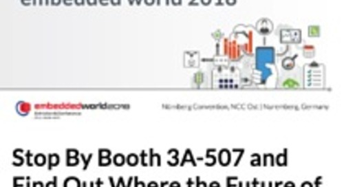 Stop By Booth 3A-507 and Find Out Where the Future of IoT Is Heading