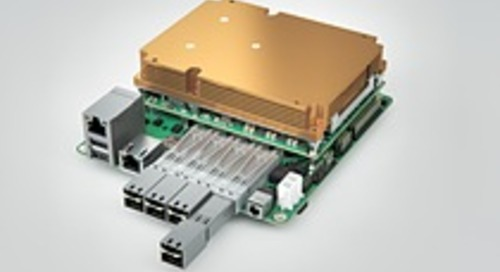 New modular 10GbE micro server carrier board from congatec in the Mini-STX form factor