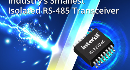 Dont get beat by usb 31 gen 2 cable assembly test challenges intersil announces industrys smallest isolated rs 485 transceiver sciox Image collections