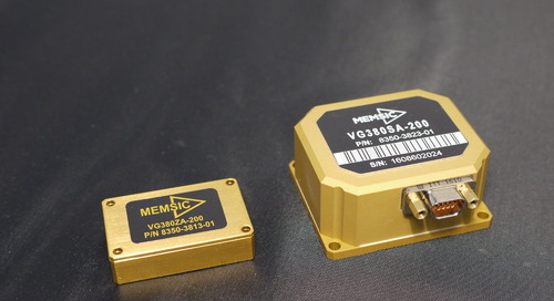 MEMSIC Announces Economical, Compact, Highly Accurate VG380 Vertical Gyro Modules