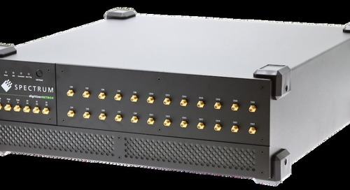 Spectrum's AWGs tackle cost effective multi-channel signal generation and offer up to 24 fully synchronous channels