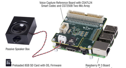 Cirrus Logic Accelerates Design of Next Generation Voice-Enabled Devices with Voice Capture Development Kit for Amazon Alexa Voice Service