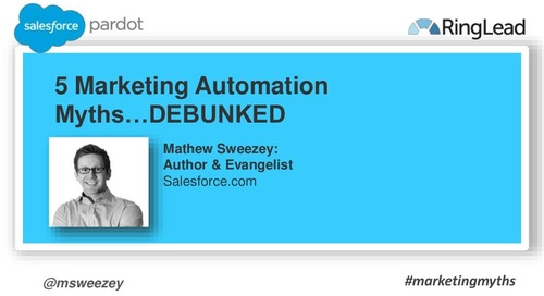 5 Marketing Automation Myths -- DEBUNKED