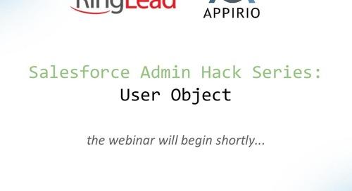 Salesforce Admin Hack Series: User Object