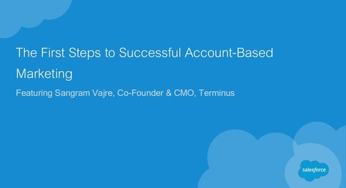 The First Steps to Successful Account-Based Marketing
